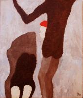 Olieverf 20 x 25 cm, 2010