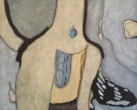 Olieverf 100 x 80 cm, 2011, € 650