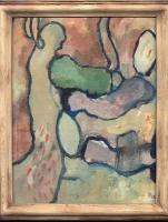 Olieverf 20 x 25 cm, 2012