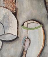 Olieverf 60 x 50 cm, 2012