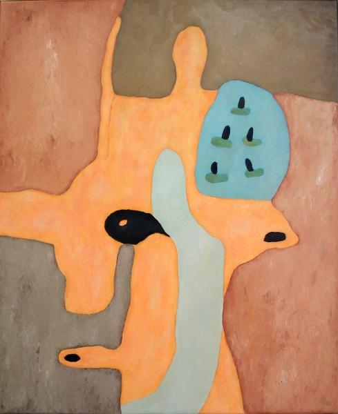 Oil paint, 95 x 115 cm, 2013, € 875