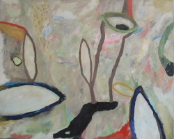 Olieverf 80 x 100 cm, 2013