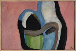 Olieverf 30 x 45 cm, 2013