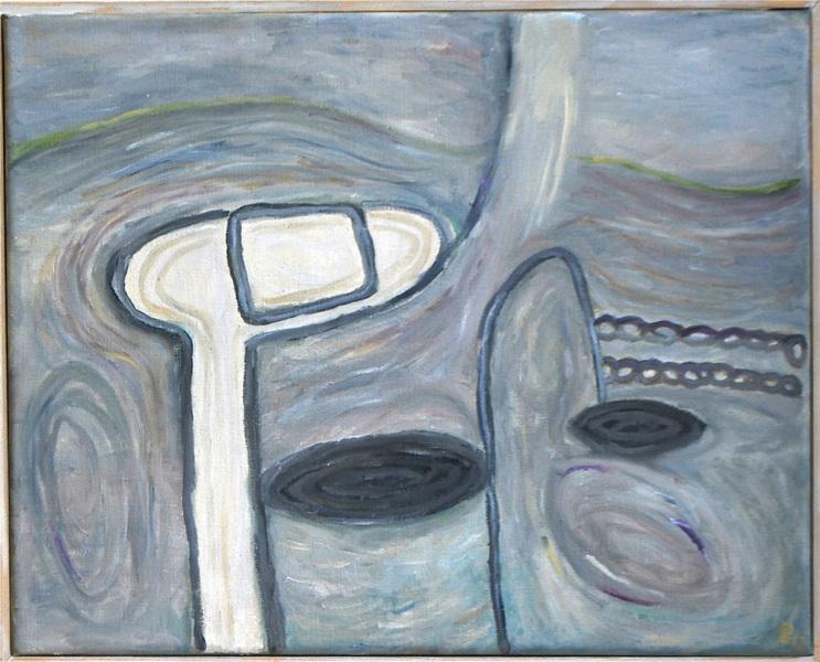 Oil paint, 40 x 50 cm, 2013, € 475