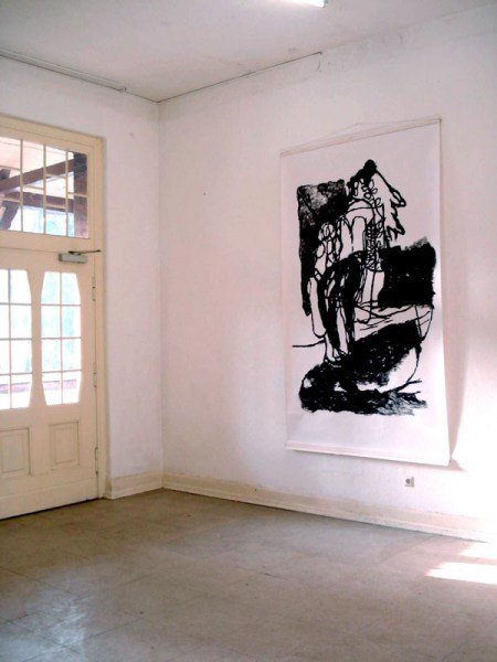 Artoll, BedburgHau, Germany, acryl on paper 150/ 260cm, 2007