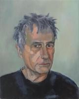 Zelfportret, Olieverf, 40x50 cm, 2019
